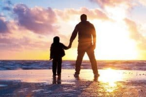 featured image blank father and son