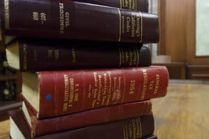 stack of law books legal laws