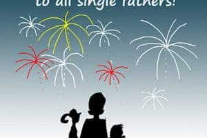 4th of july single father dad