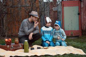 nurturing sons dads boys picnic