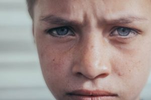 boy is upset his dad was falsely accused of child abuse